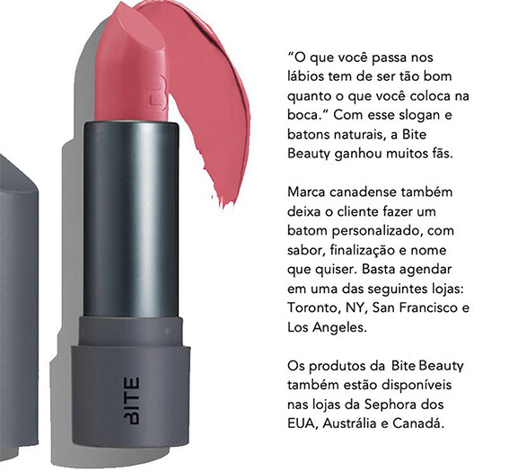 Bite Beauty, do Canadá